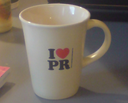 So you want to work in PR?
