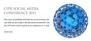 CIPR Social Media Conference