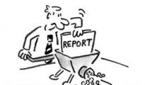 School Report Cartoon